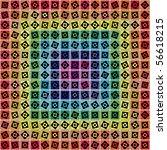 abstract geometric vector... | Shutterstock .eps vector #56618215