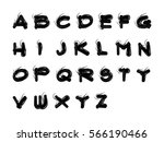 alphabet  | Shutterstock .eps vector #566190466