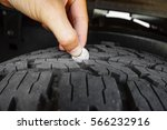 Measuring Tire Depth Using A...