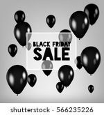 black friday sale poster with... | Shutterstock .eps vector #566235226