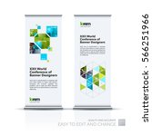 abstract business vector set of ... | Shutterstock .eps vector #566251966