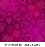 Valentine's Day Background With ...