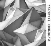volume geometric shape  3d... | Shutterstock .eps vector #566257912