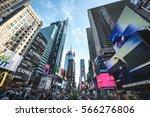 new york city  usa   circa june ... | Shutterstock . vector #566276806