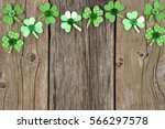 St Patricks Day Top Border Of...