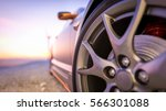 close up photos wheel sport.... | Shutterstock . vector #566301088