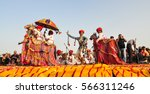 pushkar  india   mar 7  2012.... | Shutterstock . vector #566311246