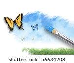 An Artist Paintbrush Is...