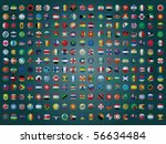 collection of all the flags of... | Shutterstock .eps vector #56634484