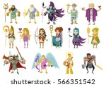 olympian gods and goddess from...