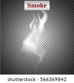 delicate white cigarette smoke... | Shutterstock .eps vector #566369842