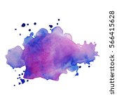 abstract hand drawn watercolor... | Shutterstock .eps vector #566415628