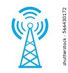 transmitter icon  | Shutterstock .eps vector #566430172