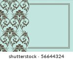 seamless pattern and decorative ... | Shutterstock .eps vector #56644324