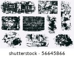 banners and frames vector   Shutterstock .eps vector #56645866