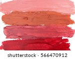 smudged lipstick on white...   Shutterstock . vector #566470912