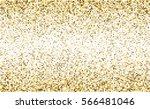 gold glitter texture isolated... | Shutterstock .eps vector #566481046