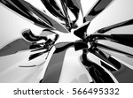 abstract dynamic interior with... | Shutterstock . vector #566495332