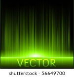 vector green abstract shiny backgrounds - stock vector