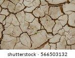 Cracked Ground Dry Land....