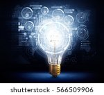 innovative technology ideas .... | Shutterstock . vector #566509906