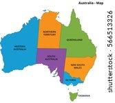 australia country illustration... | Shutterstock .eps vector #566513326