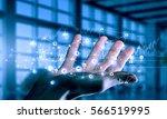 presenting wireless... | Shutterstock . vector #566519995