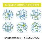 doodle vector illustrations of... | Shutterstock .eps vector #566520922