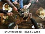 craft beer booze brew alcohol... | Shutterstock . vector #566521255