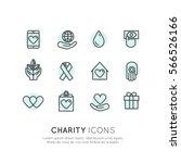 vector illustration icon set of ... | Shutterstock .eps vector #566526166