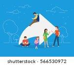 share symbol concept... | Shutterstock .eps vector #566530972