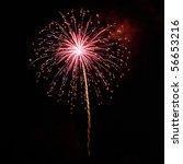 A Delicate Burst Of Fireworks...