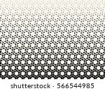 abstract geometry black and... | Shutterstock .eps vector #566544985