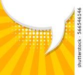 comic text talk dialog empty... | Shutterstock .eps vector #566546146