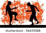 party  grunge background | Shutterstock .eps vector #56655088