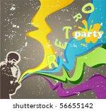 retro card   Shutterstock .eps vector #56655142