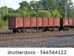 typical modern railway high... | Shutterstock . vector #566564122