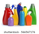 detergent bottles or containers.... | Shutterstock . vector #566567176