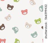 fun seamless pattern texture... | Shutterstock .eps vector #566599432