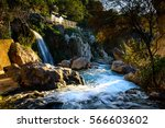 algar fountains alicante... | Shutterstock . vector #566603602