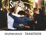 craft beer booze brew alcohol...   Shutterstock . vector #566605606