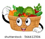 mascot illustration featuring a ... | Shutterstock .eps vector #566612506