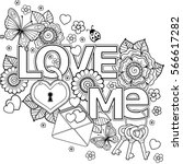 vector doodle pattern for...   Shutterstock .eps vector #566617282