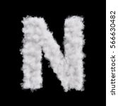 capital letter n font of white... | Shutterstock . vector #566630482