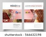 business templates for brochure ... | Shutterstock .eps vector #566632198