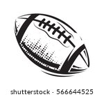 american football icons ball... | Shutterstock .eps vector #566644525