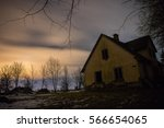 old home and stars | Shutterstock . vector #566654065