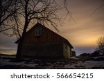 old home and stars | Shutterstock . vector #566654215