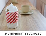 coffee cup on the table | Shutterstock . vector #566659162