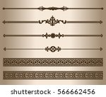 decorative elements. design... | Shutterstock .eps vector #566662456